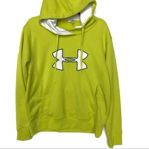 UNDER ARMOUR green hooded hoodie S3